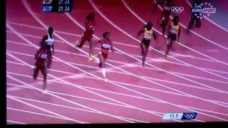 Final du 200 mètre femme JO
