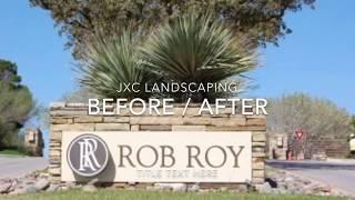 Rob Roy Austin TX landscape renovation by JXC Landscaping