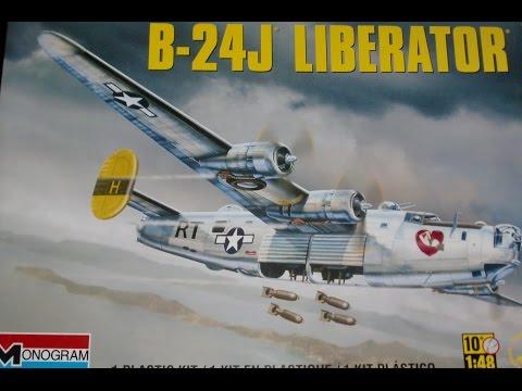 Monogram 1:48 B-24 J Liberator (Part 2)
