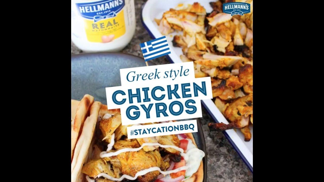 Hellmann S Chicken Gyros Youtube
