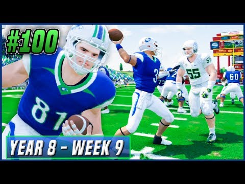 Kalispell's 100th Game - NCAA Football 14 Dynasty Year 8 - Week 9 vs Oregon | Ep.139