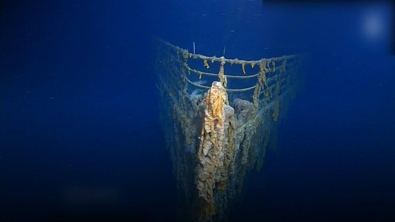 El Titanic vuelve a aparecer | Registran sorprendentes imágenes del trasatlántico en 4K