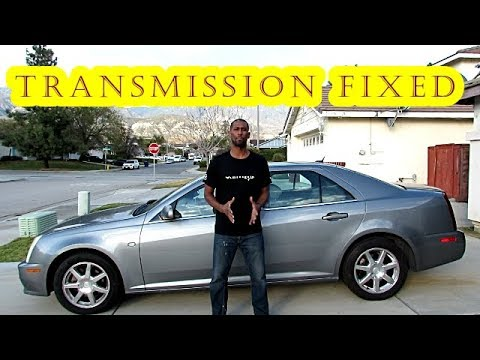 Cadillac STS V8 | How To Fix Your Transmission Drive Shaft From Clunking