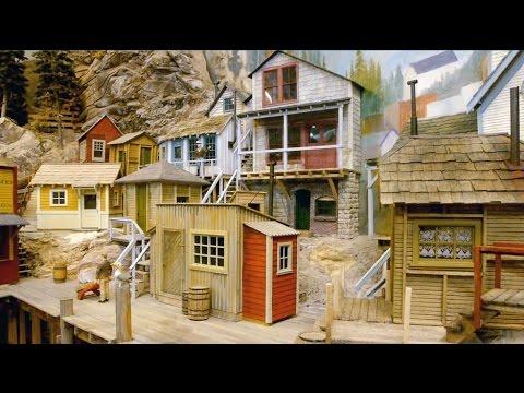A New Fishing Village On Steve's Model Railroad