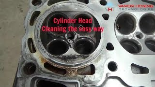 Automotive Cylinder Head Cleaning- Vapor Honing Technologies