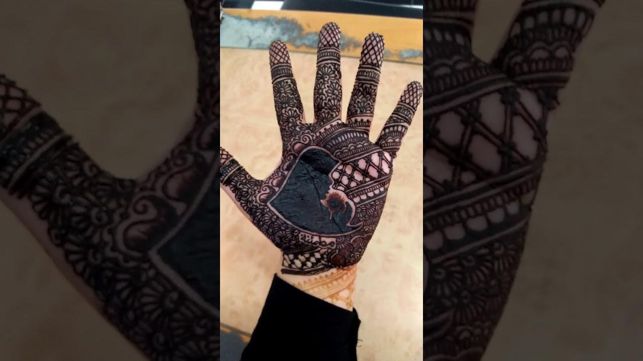 Henna Telapak Tangan Kreation Bye Iinhenabandung Youtube