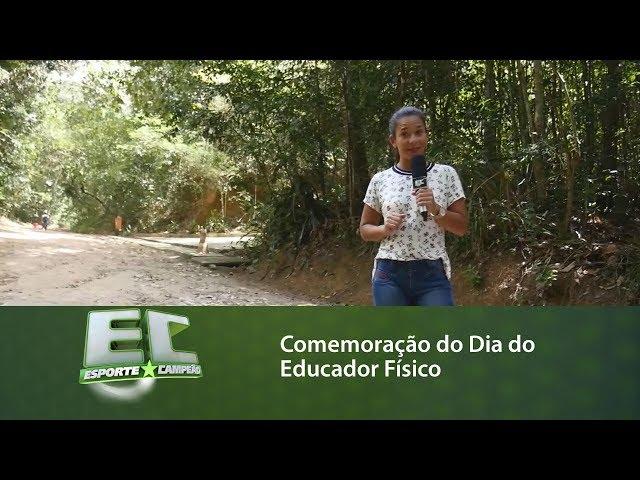 Comemoração do Dia do Educador Físico no Parque Municipal de Maceió