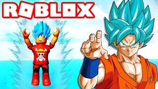 Roblox → SUPER SAIYAJIN AZUL | SSJB !! - Dragon Ball Rage #6 🎮