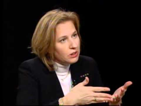 Charlie Rose - A discussion with Israeli Foreign Minister Tzipi Livni