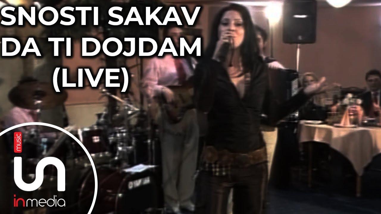 Suzana Gavazova - Snosti sakav da ti dojdam (live)
