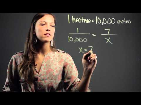 How to Convert Hectares to Meters : Math Education