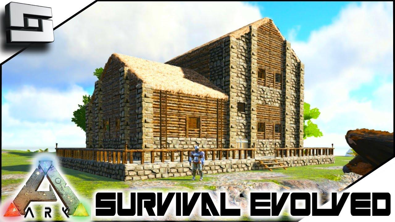 Wonderful ARK: Survival Evolved   NEW BASE HOUSE PLACE!! E11 ( Ark Ragnarok Map )