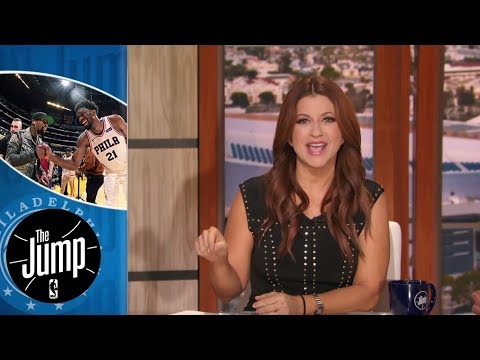 Rachel Nichols thinks Joel Embiid might be better than Hakeem Olajuwon 'one day' | The Jump | ESPN