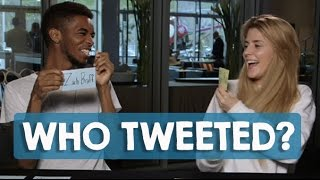 WHO TWEETED!? CHALLENGE with KINGSLEY