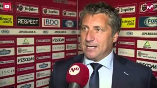 Reactie Ruud Brood na afloop van Helmond Sport - N.E.C.