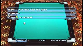 Xbox - World Championship Pool 2004 - 9 Ball Pool - Tournament 1 - Las Vegas Open