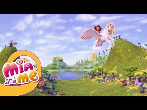 Мия и Я - 1 сезон 1 серия - Разговор с единорогами | Мультики для детей про эльфов, единорогов