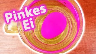 Pinkes Überraschungs Ei für Eva! Geschenk von Kathi - Was schlüpft aus dem pinken Ei? DIY Surprise