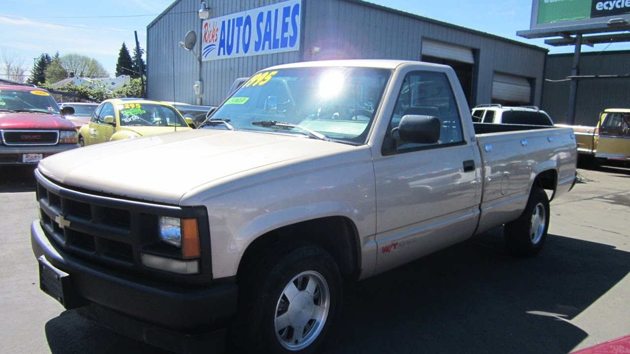 1993 CHEVY 1500 CHEYENNE 797K SOLD!! - YouTube