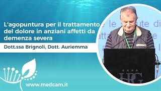 L'agopuntura per il trattamento del dolore in anziani affetti da demenza severa - Auriemma, Brignoli