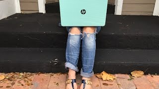 HP 15 Notebook in Minty Green #HPonQVC