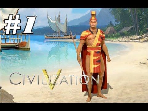 Civ 5: Polynesia - Easter Island (Part 1)