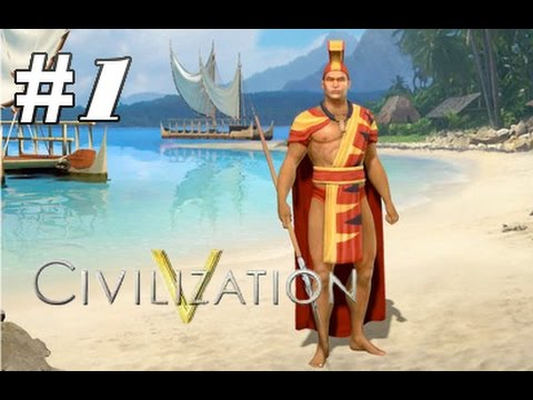 Civ 5: Polynesia - Easter Island (Part 1) |