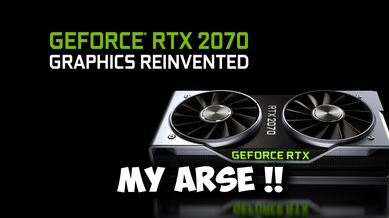 RTX 2070 bringing mid range performance to the high end !! another crock!!