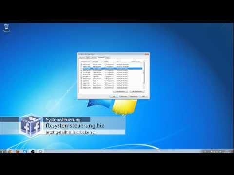 [Windows 7] Autostart Programme Entfernen | System Optimieren