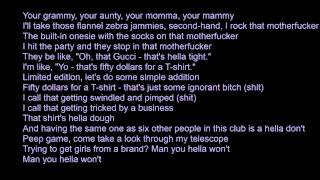 All Comments On Macklemore Feat Ryan Lewis Thrift Shop Ft Wanz