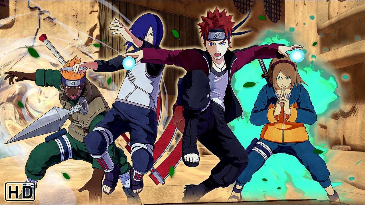 NARUTO TO BORUTO: SHINOBI STRIKER All Character Creation Features (Jutsus,  Clans, Weapons, Customes)