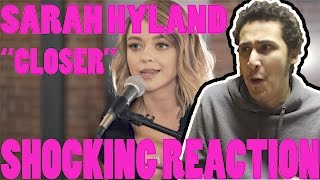 The Chainsmokers ft. Halsey - Closer (Boyce Avenue ft. Sarah Hyland cover) [SHOCK REACTION]