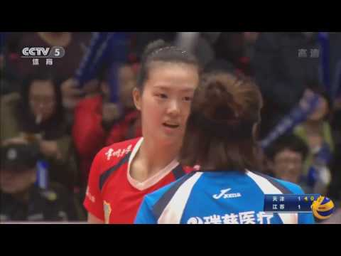 Tianjin vs Jiangsu ECE | 7 Feb 2017 | Semi - final 2 | Chinese Women Volleyball League 2016/2017