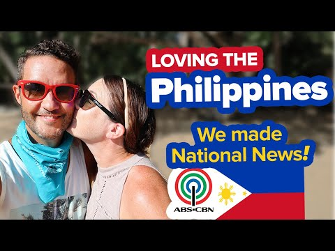 Feeling the Filipino Love ❤️ We're on ABS-CBN News! Foreigners on Lockdown in El Nido Philippines.