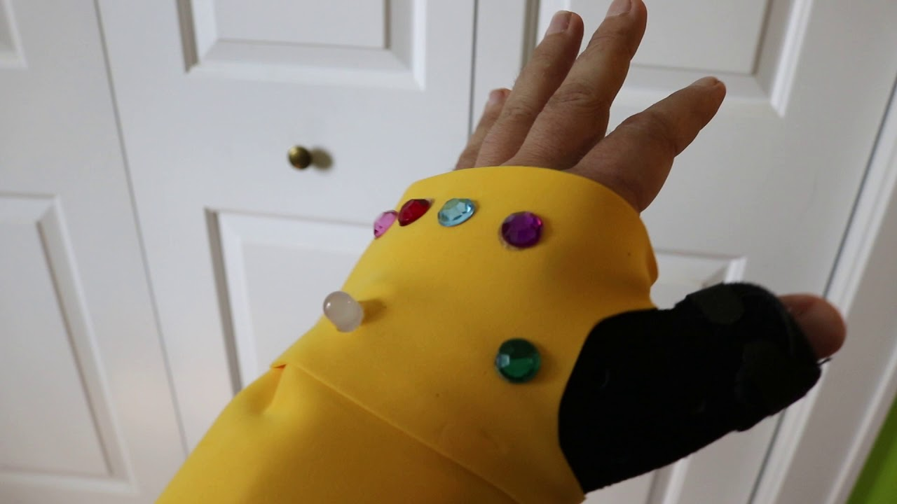 Infinity Gauntlet Cast Cover (Light-up): 5 Steps (with Pictures)