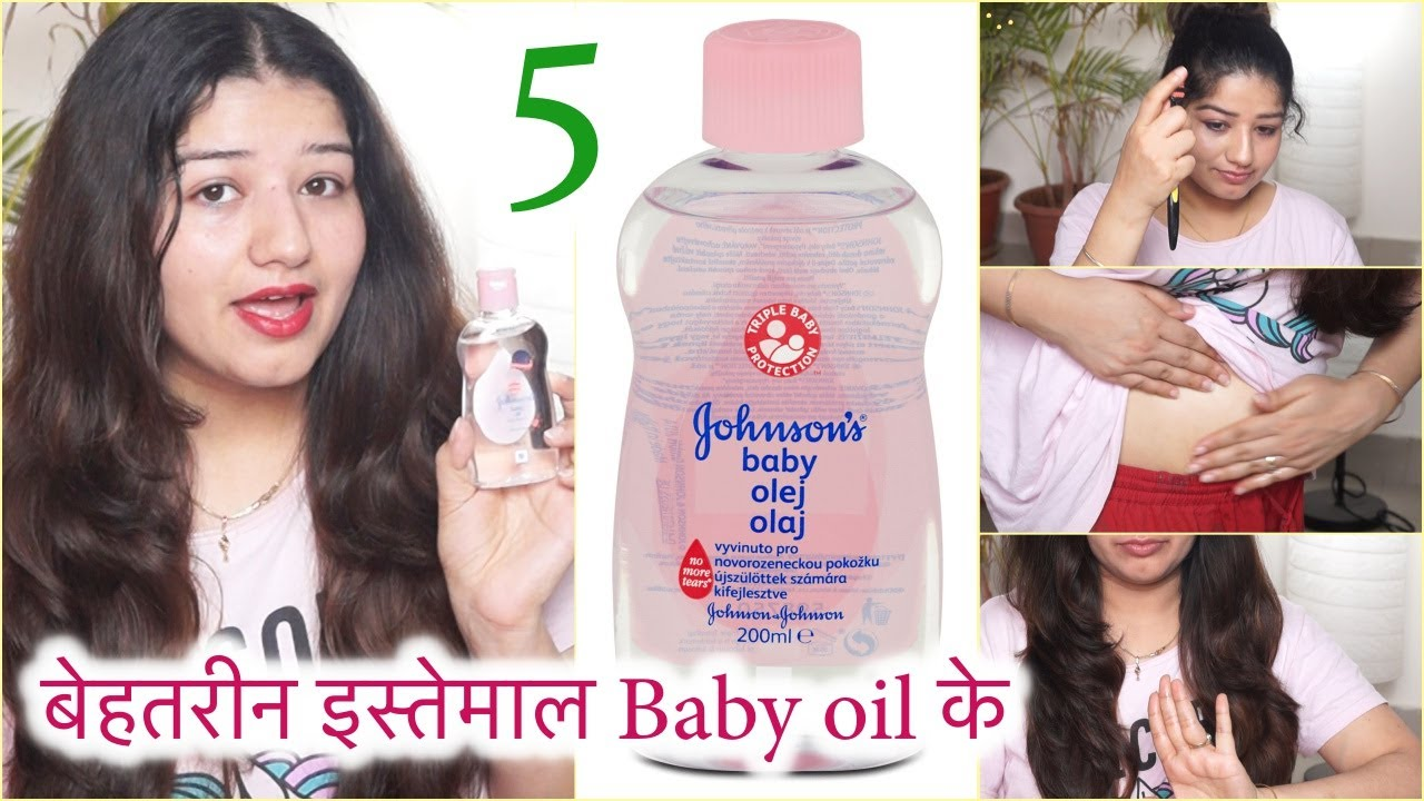 11 amazing beauty uses of baby oil for face, hair & body/ 11 amazing ways to  use baby oil