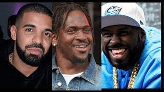 Pusha T & Funk Flex Respond To Drake Claiming He's Gonna Put Hands On Pusha When He Sees Him