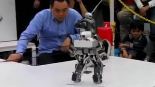 pertarungan robot di jepang!! hampir mirip REAL STEEL...