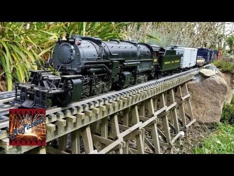 CABEDOMA G Scale Garden Railroad Backyard G Gauge Trains August 30th 2020