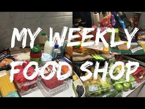 My Weekly Food Shop | Asia Jade Walker