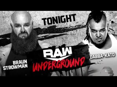 Download Braun Strowman vs Dabba-Kato (Full Match Raw Underground)