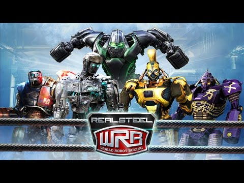 Real Steel-All songs and Robots-(Liga)