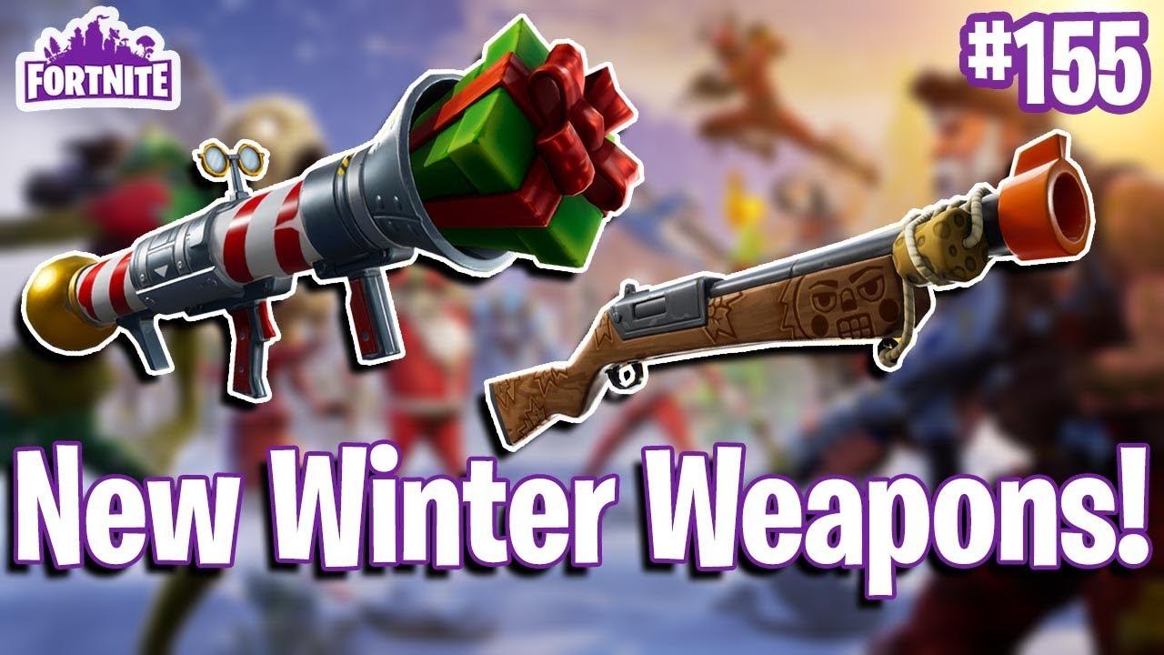 Pop Shot (Shotgun) & Santa's Little Helper (RPG) Quickview   Fortnite #155