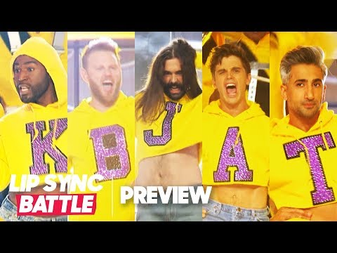 """The Queer Eye Fab 5 Slays """"Grown Woman"""" by Beyoncé 