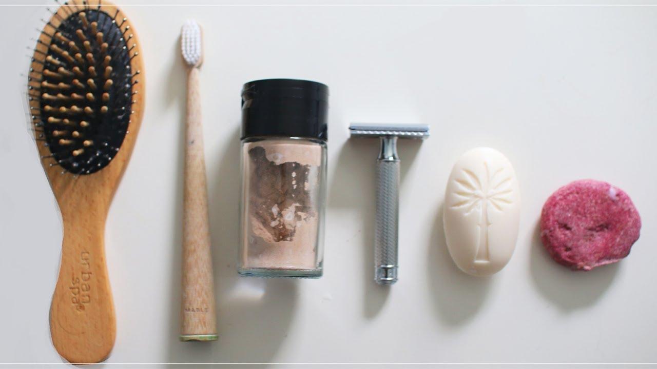 My zero waste minimalist bathroom essentials youtube for Minimalist essentials