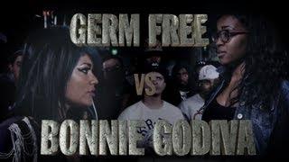 Gambar cover KOTD - Rap Battle - Germ Free vs Bonnie Godiva