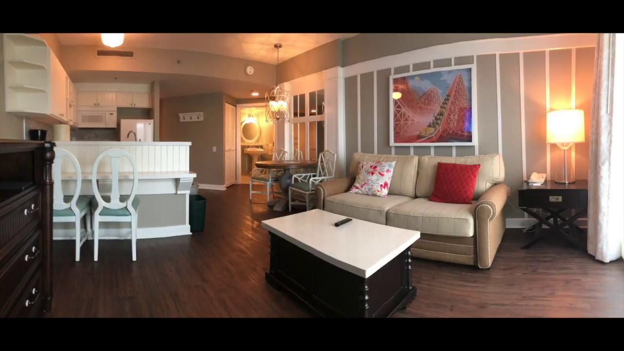 Boardwalk 1 Bedroom Villa Tour Youtube
