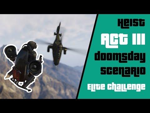 A New GTA Online Heist - ACT 3: Doomsday Scenario   Elite Challenge