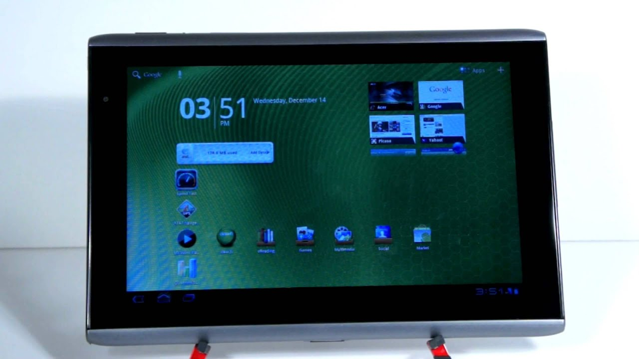 acer iconia tab a501 review youtube rh youtube com Acer Iconia Tablet Review CNET Acer Iconia Tab A500