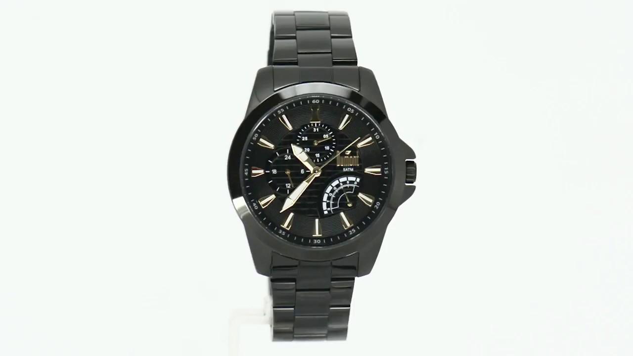 18094b514ae Relógio Dumont Masculino Garbo DUJR00AI 3P - Eclock - YouTube
